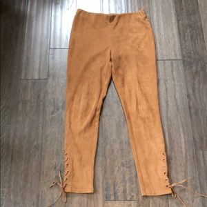 Forever 21 Faux Suede Pants